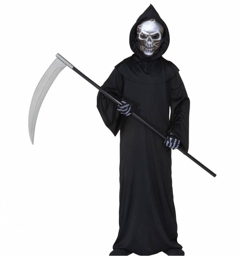 Halloween Kostuum Magere Hein.Halloween Hein Met De Zeis Voor Kinderen