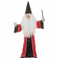 Halloweenkleding kleine fantasie tovenaar