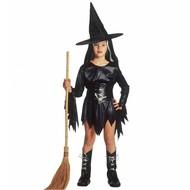 Halloweenkleding: Heksenkostuum kind