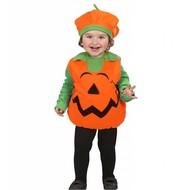 Halloweenkostuum opgevulde pompoen kind