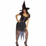 Halloweenkleding heks Morgana