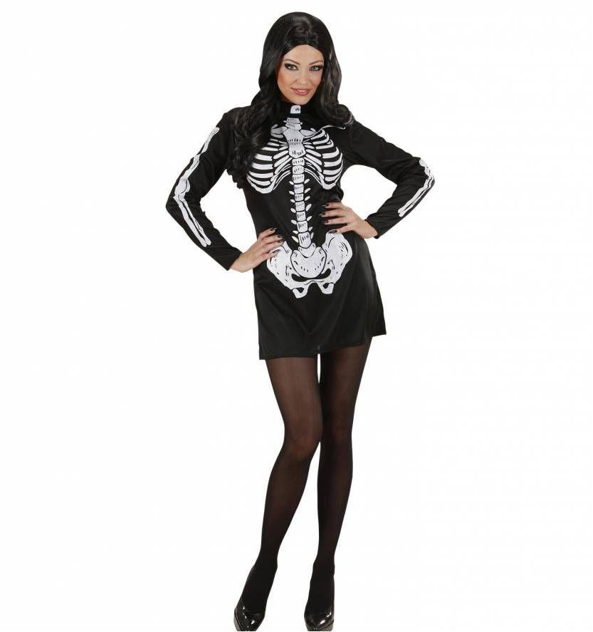 5091433ec1d37a Skelet jurkje voor dames die van horror houden