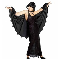Halloweenkleding: Spinneweb dame