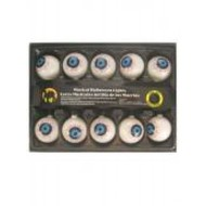 Halloweenaccessoires: Verlichte oogballen met geluid