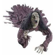 Halloweenartikelen pratende heks groundbreaker