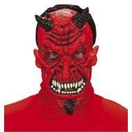 Halloweenaccessoires masker duivel