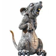 Halloweenaccessoires staande rat 32cm