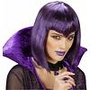 Halloweenaccessoires combi lippenstift en nagellak paars