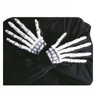 Halloweenartikel handen skelet