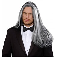 Halloweenaccessoires pruik droomhaar Victoriaanse vampier