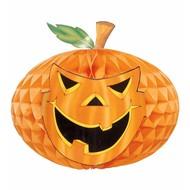 Halloweenaccessoires neon jumbo decoratie pompoen76cm