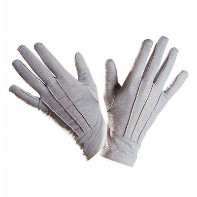 Halloweenaccessoires handschoenen paars