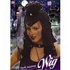 Halloweenpruik dark mistress met sluier en spin