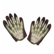 Halloweenaccessoires: Handschoenen skelet
