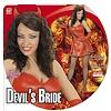 Halloweenkleding: Devils bride in red