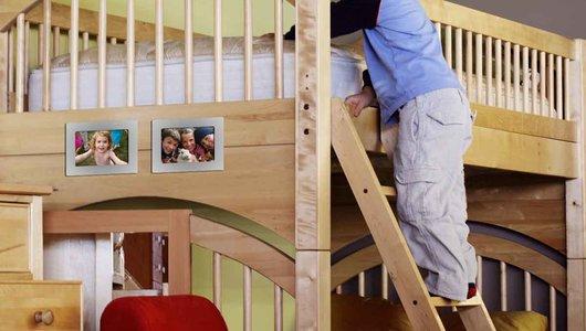 Fotolijstjeoveral in de kinderkamer