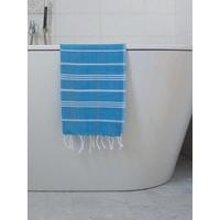 hamam handdoek helderblauw