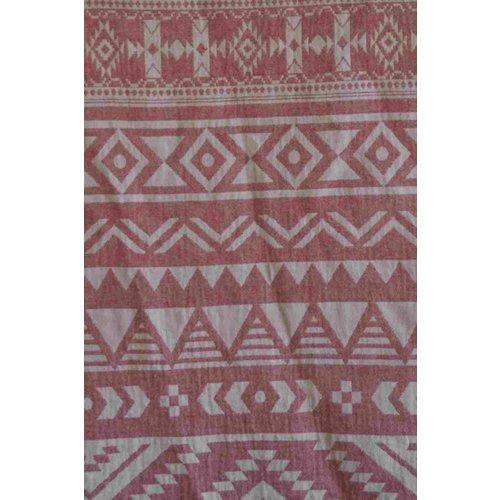Call it Fouta! hamamdoek Aztec soft red