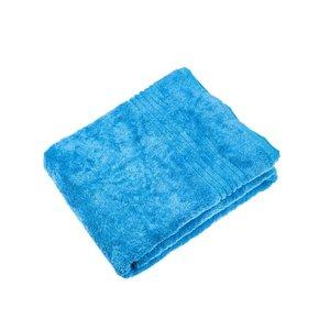 sauna handdoek bamboe xl blauw 200x70