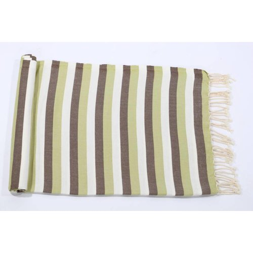 Call it Fouta! kids hamamdoek multi green brown