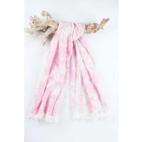 hamamdoek Kelim soft pink