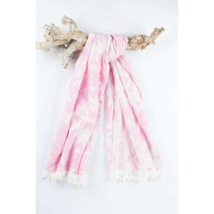 Call it Fouta! hamamdoek Kelim soft pink