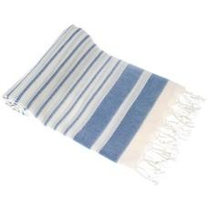 Hamams own hamamdoek Aquastreeps blue