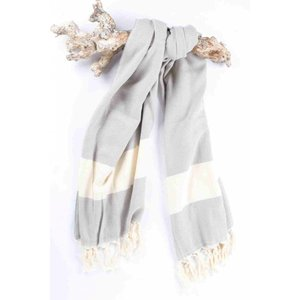 Call it Fouta! hamamdoek Herringbone gray