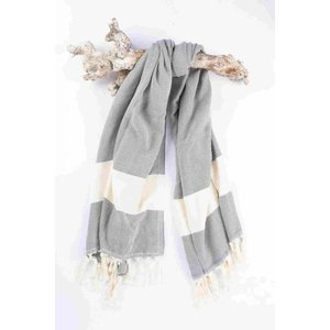 Call it Fouta! hamamdoek Herringbone antracite