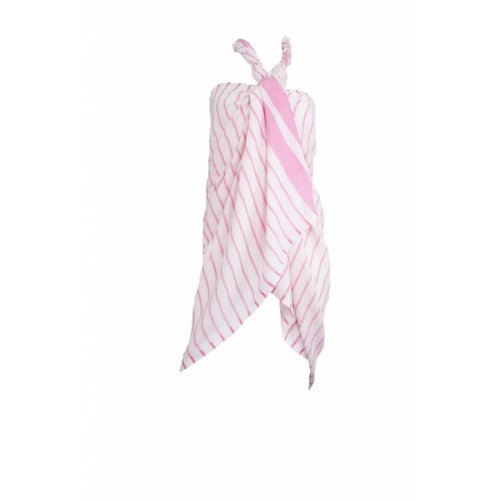 Hamams own hamamdoek Aquastreeps pink 190x90