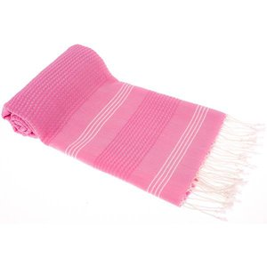 Hamams own hamamdoek BeachFun pink