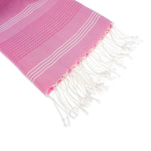 Hamams own hamamdoek BeachFun pink