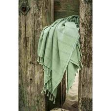 Hamams own hamamdoek Stone denim green