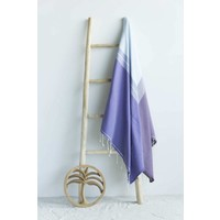 fouta Splash purple lavender