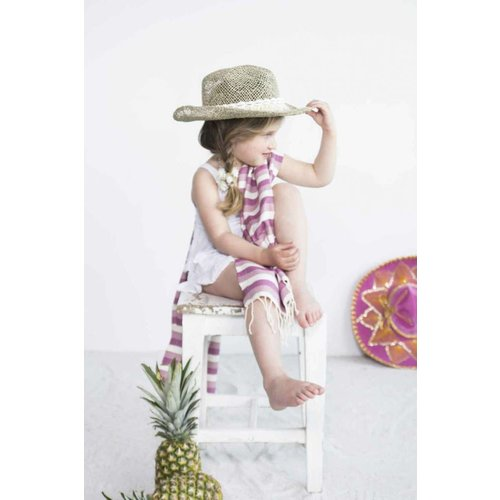 Call it Fouta! kids hamamdoek multi light purple