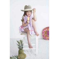 Call it Fouta! kids hamamdoek lilas pink