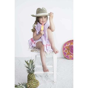 Call it Fouta! kids hamamdoek lilas pink