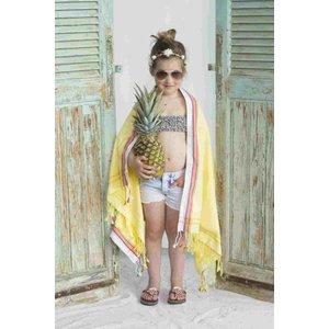 PURE Kenya kikoy kinder strandlaken Bamburi yellow
