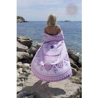 Roundie Gypsy Spring pink pompom