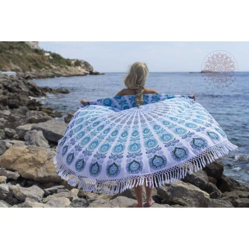 Call it Fouta! Roundie Gypsy Peacock Atlantis