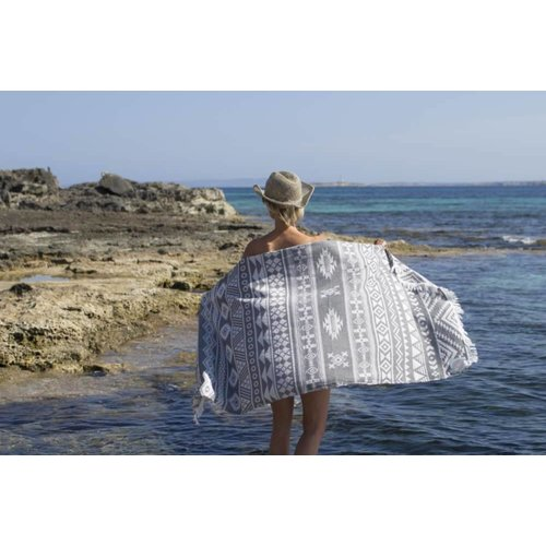 Call it Fouta! hamamdoek Aztec anthracite