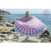 Roundie Gypsy Fantasy Island coral