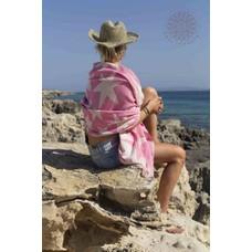 Call it Fouta! hamamdoek Stars pink