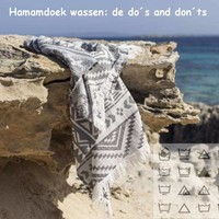Hamamdoek wassen: de do's and don'ts