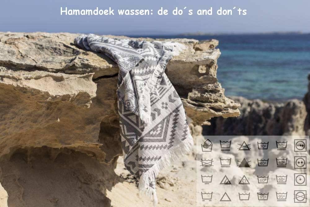Hamamdoek wassen: de do's and don'ts