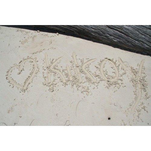 PURE Kenya kikoy strandlaken stone washed lila 170x95cm