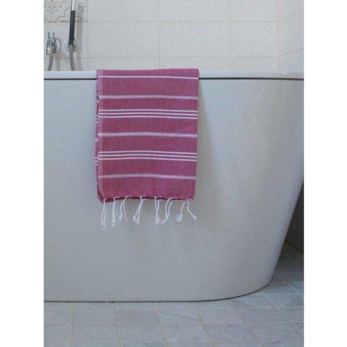 Ottomania hamam handdoek cerise
