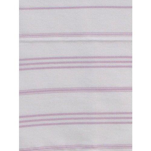 Ottomania hamam handdoek wit met lichtlila strepen