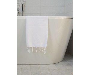 Super Effen witte hamam handdoek kopen? Die bestel je voordelig online FQ-48