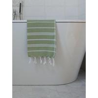 hamam handdoek mosgroen